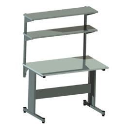 Stół produkcyjny AC-2 z dwiema półkami