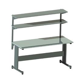 Stół produkcyjny AC-3 z dwiema półkami