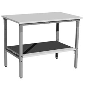 Stół warsztatowy z półką pod blatem