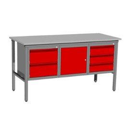 Stół warsztatowy z szufladami