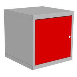 szafka kontenerowa z drzwiczkami