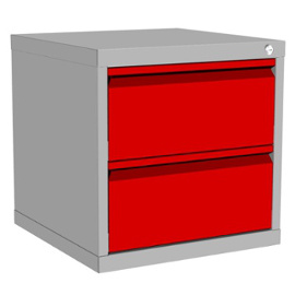 Szafka kontenerowa z dwiema szufladami