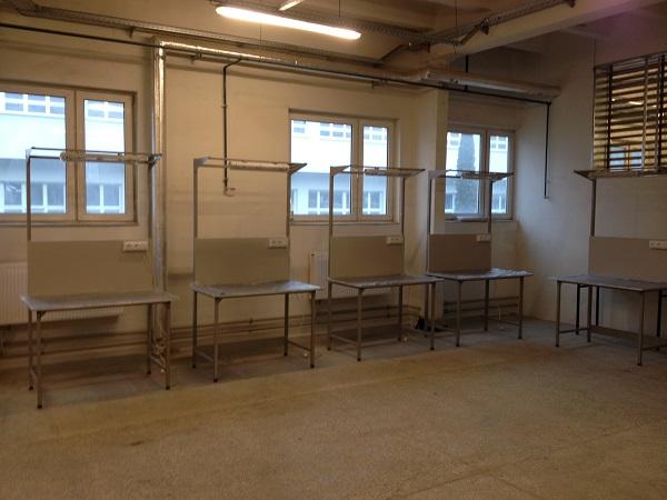 stoły montażowe z oświetleniem dla firmy z opoczna