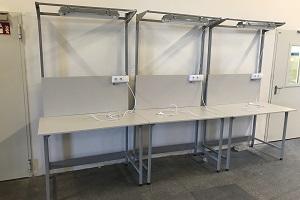 montażowy stół do kontroli jakości