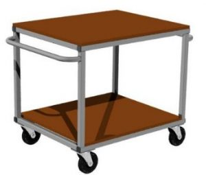 warsztatowe wózki platformowe rc-s006