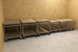wózki platformowe do warsztatu w warszawie