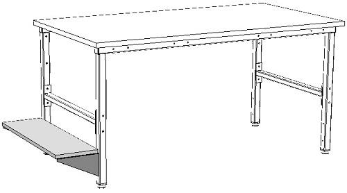półka pod komputer - zastosowanie