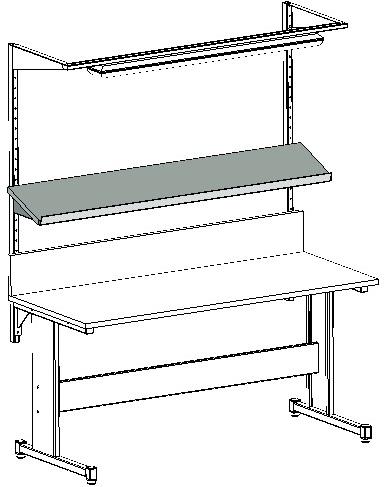 Zastosowanie półki 20 stopni