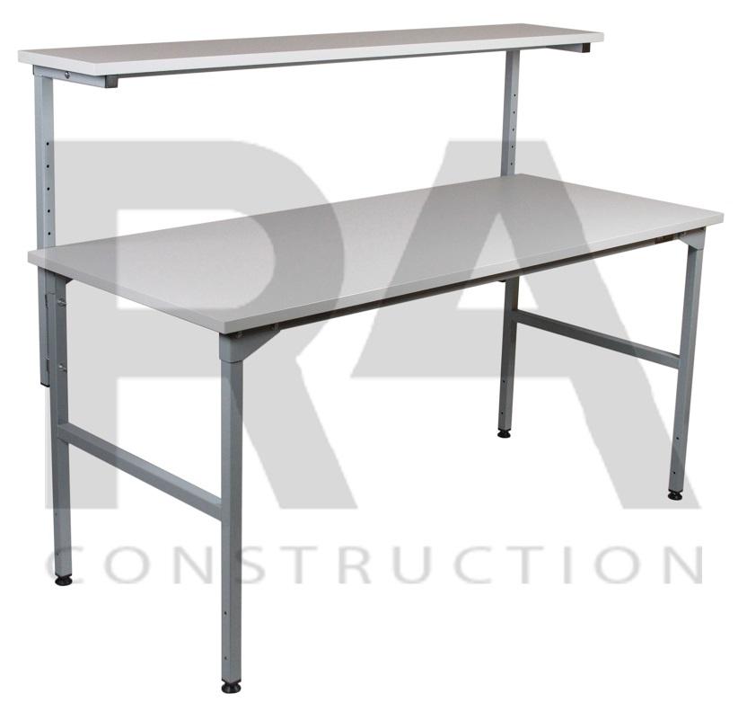 realizacja konstrukcji stołu montażowego z półką nad blatem ec3 0002