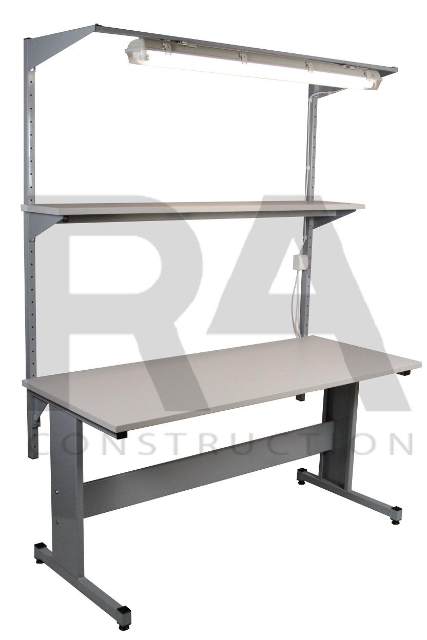 stół przemysłowy z oświetleniem blatu ac 3 0004 realizacja