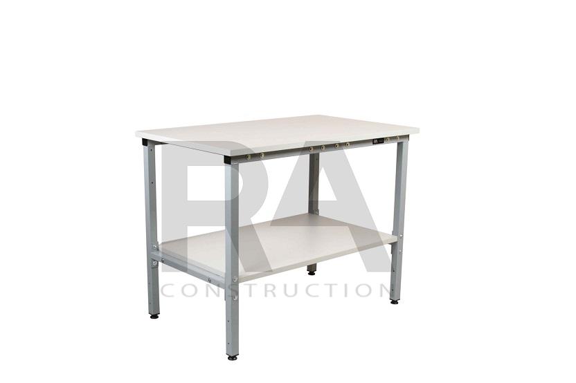 stół warsztatowy dwupoziomowy