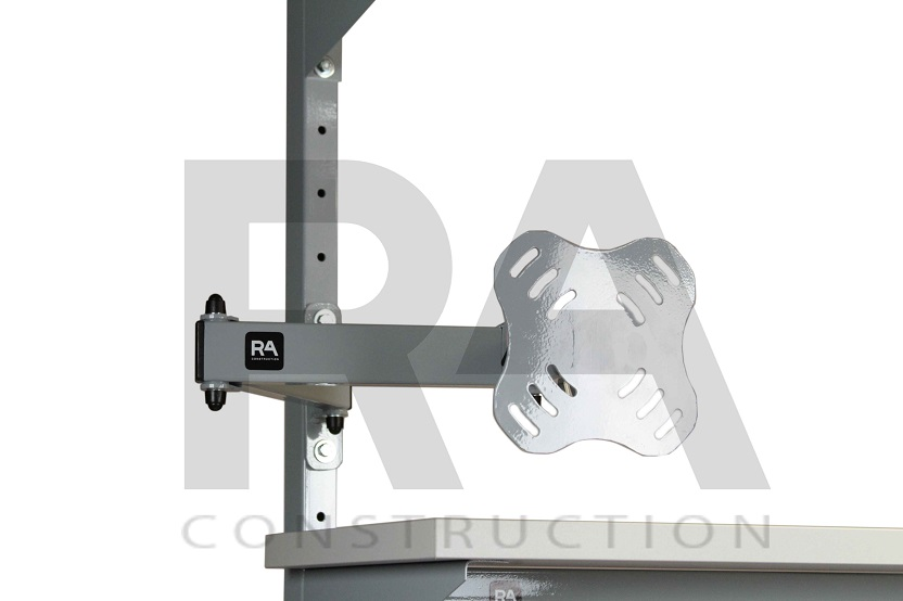 uchwyt na monitor vesa do stołów montażowych ra construction