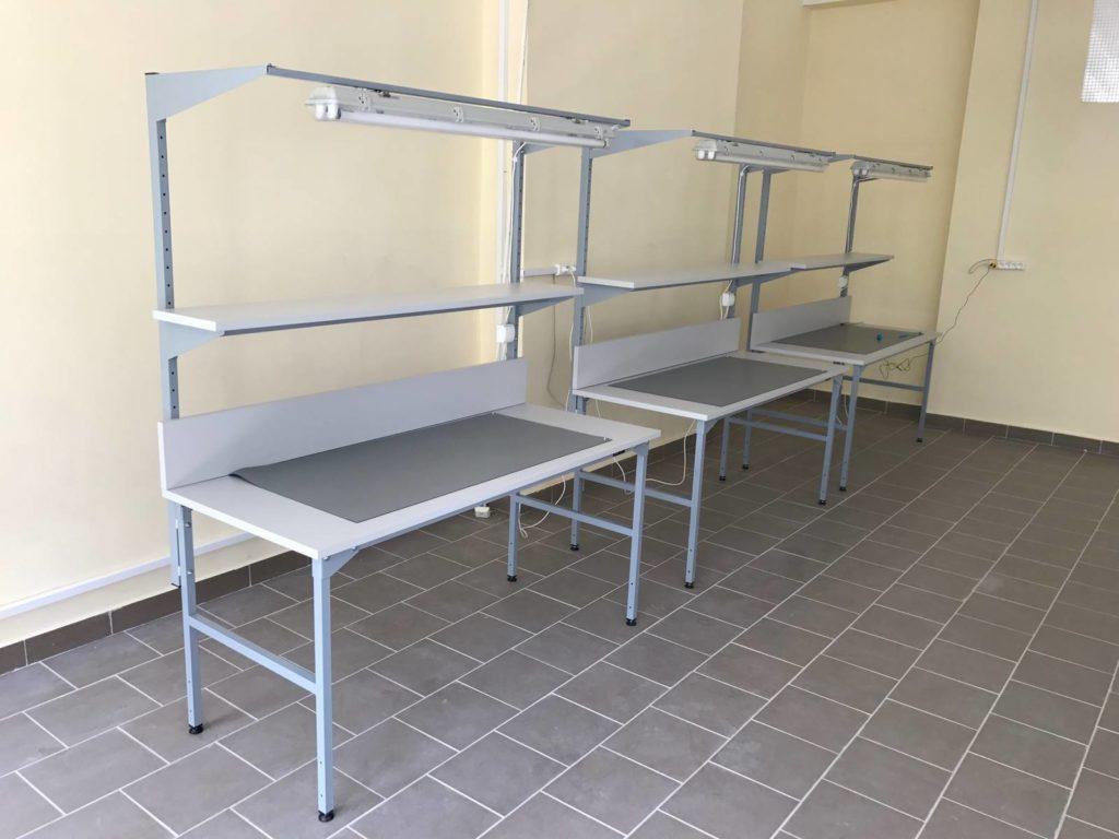 stoły montażowe ESD