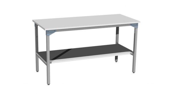 Półka pod blatem stołu
