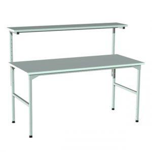 Stół produkcyjny z półką