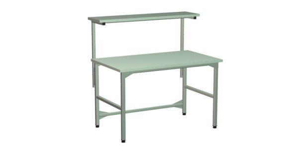 Stół regulowany z półką