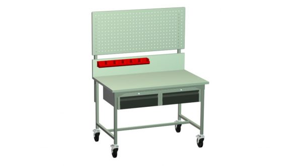 Stół narzędziowy z kołami