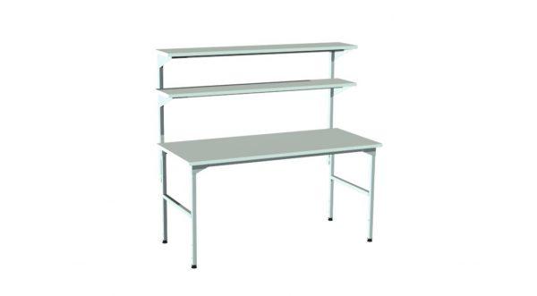 Stół montażowy z nadstawką