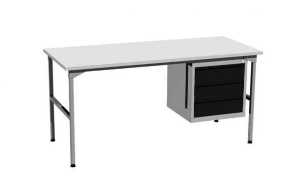 Stół montażowy z szafką