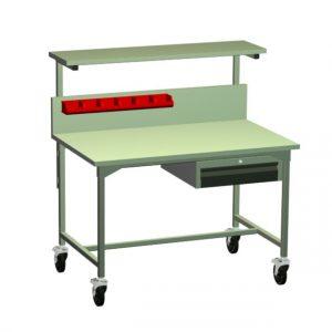 Stół warsztatowy z kółkami