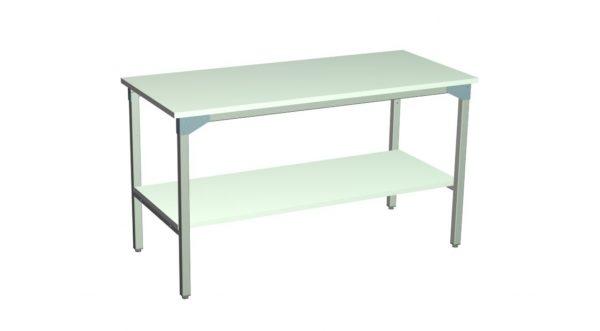 Stół roboczy z półką