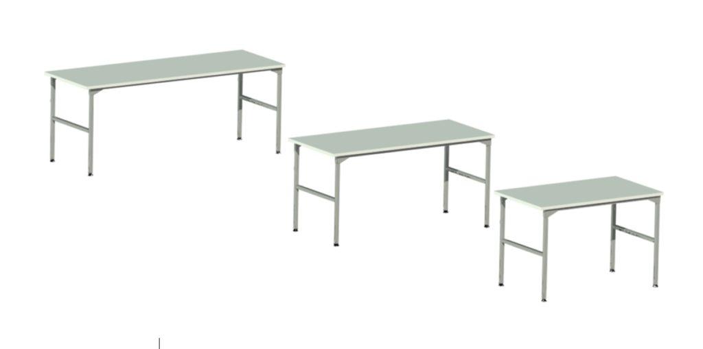 stoły montażowe, produkcyjne wielkość