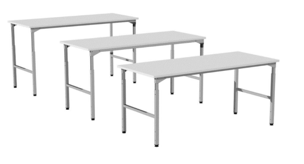 stoły montażowe, produkcyjne wysokość