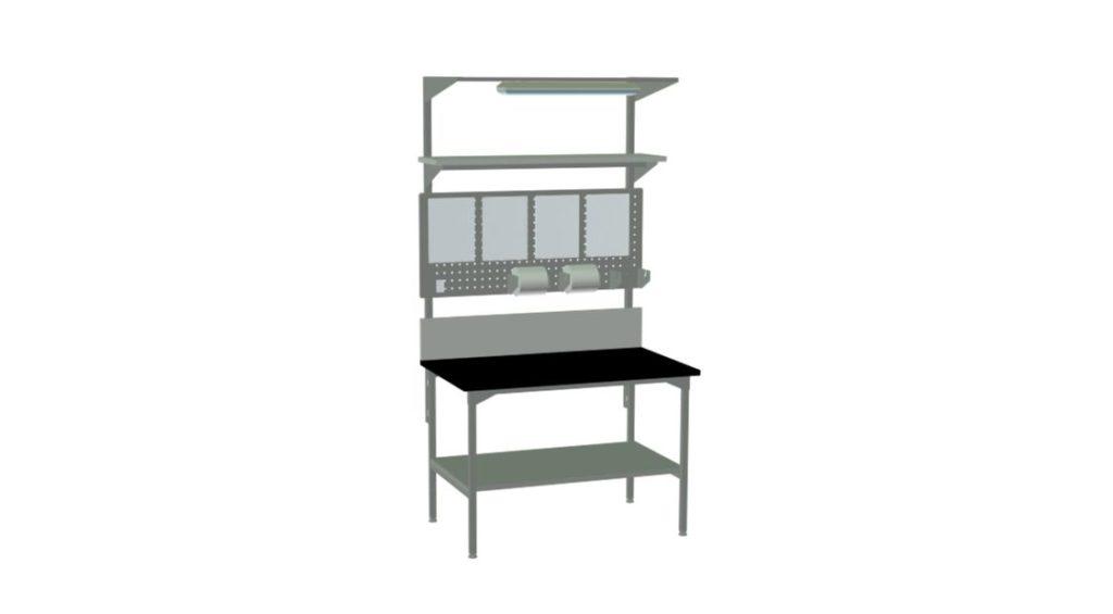 Stół do kontroli jakości wyrobów
