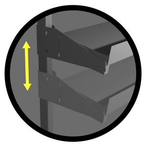 półka do stołu do pakowania ikona ra construction
